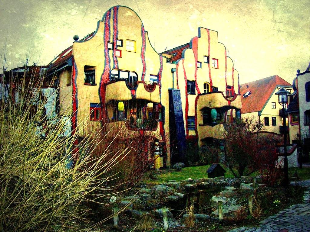 Plochingen Hier War Der Kunstler Hundertwasser Aktiv 62 5 Flickr