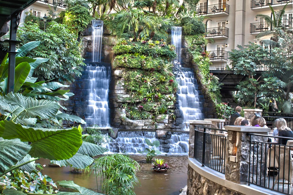 waterfall gaylord opryland hotel gaylord opryland hotel. Black Bedroom Furniture Sets. Home Design Ideas
