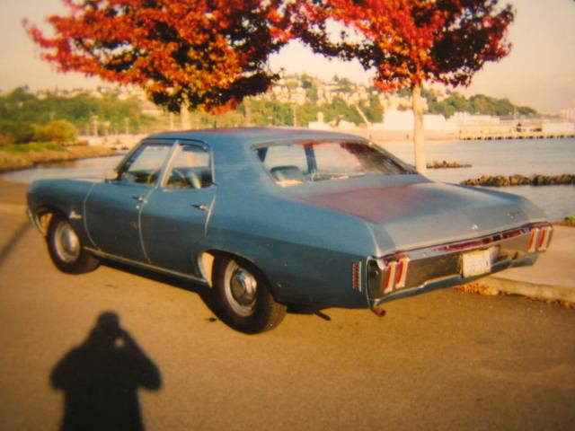 1970 Biscayne Sedan Rear Ordered And Purchased New At