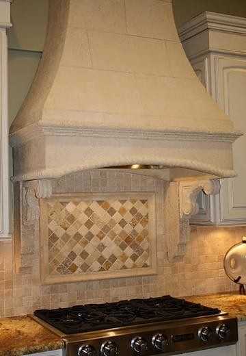 Kitchen Oven Hood Natural Stone Kitchen Oven Hood