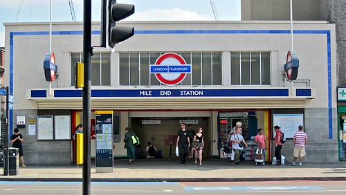 Mile End station | by Andy Worthington