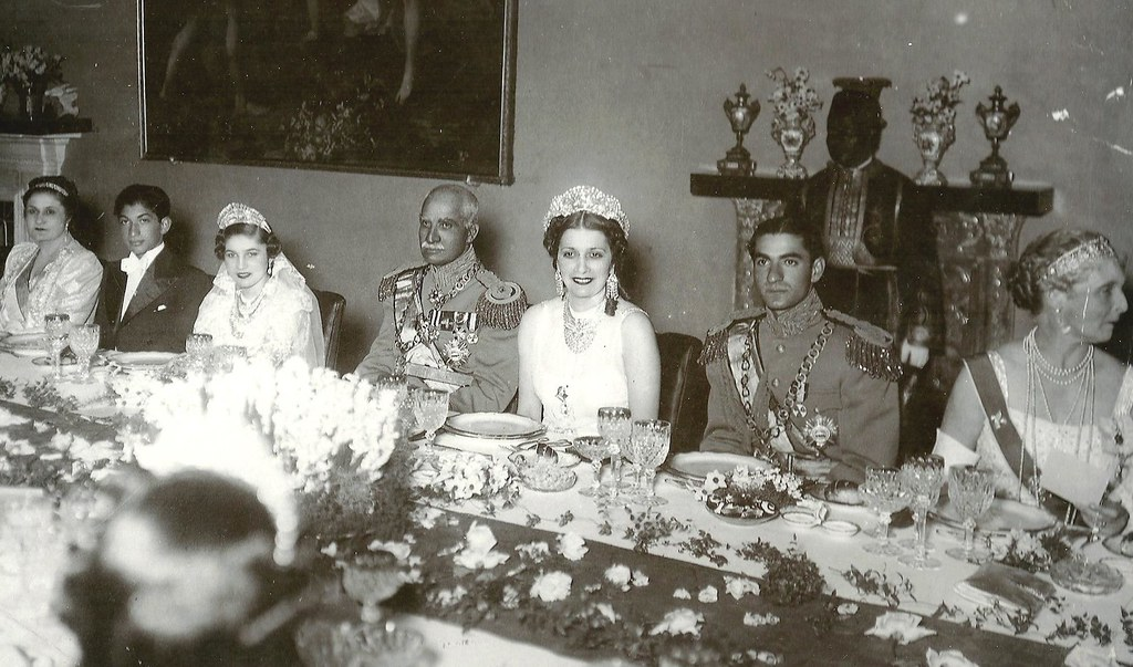 Princess Fawzia S Wedding Celebrations In Tehran Iran Ci