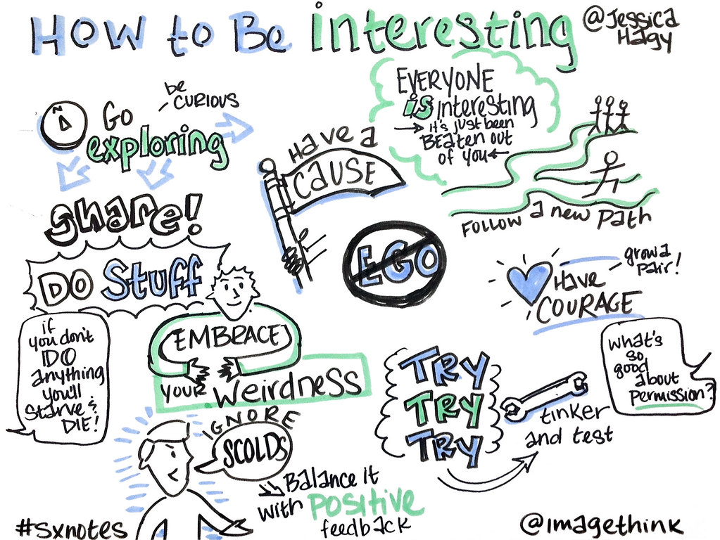 Image result for how to be interesting