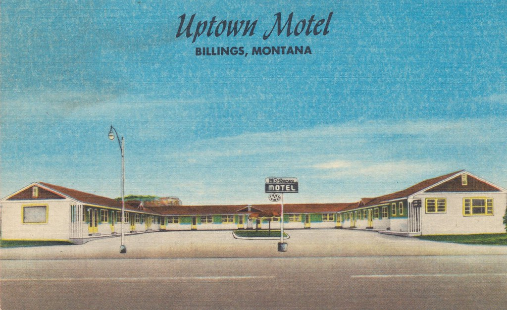 Uptown Motel - Billings, Montana