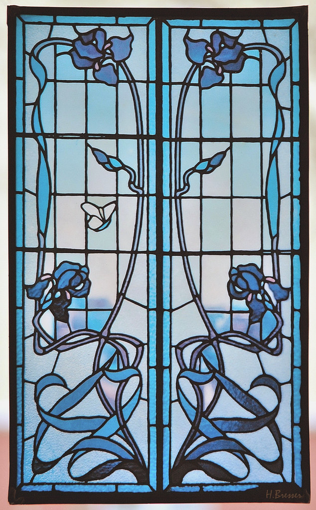 Deco Jugendstil jugendstil fenster deco window thanks for the visi flickr
