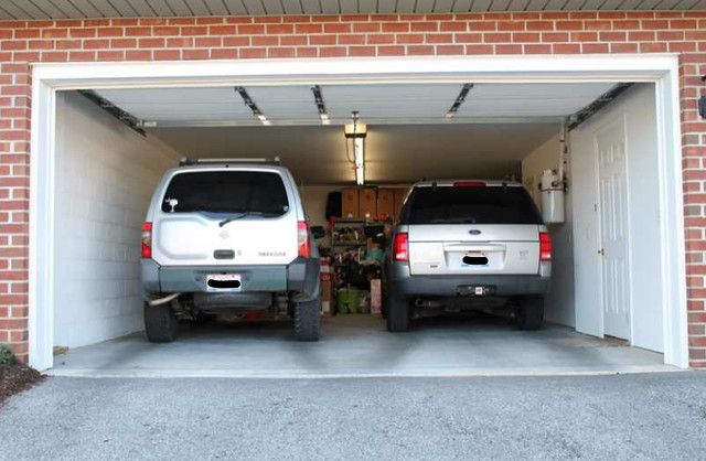 deep two car garage flickr photo sharing