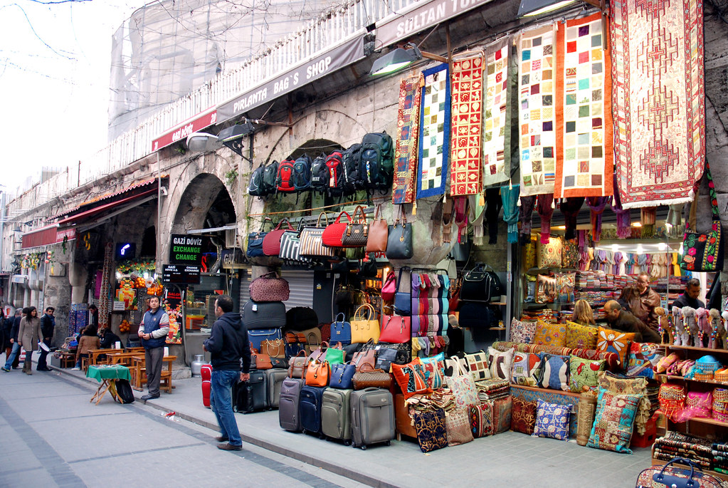Outside the Grand Bazaar