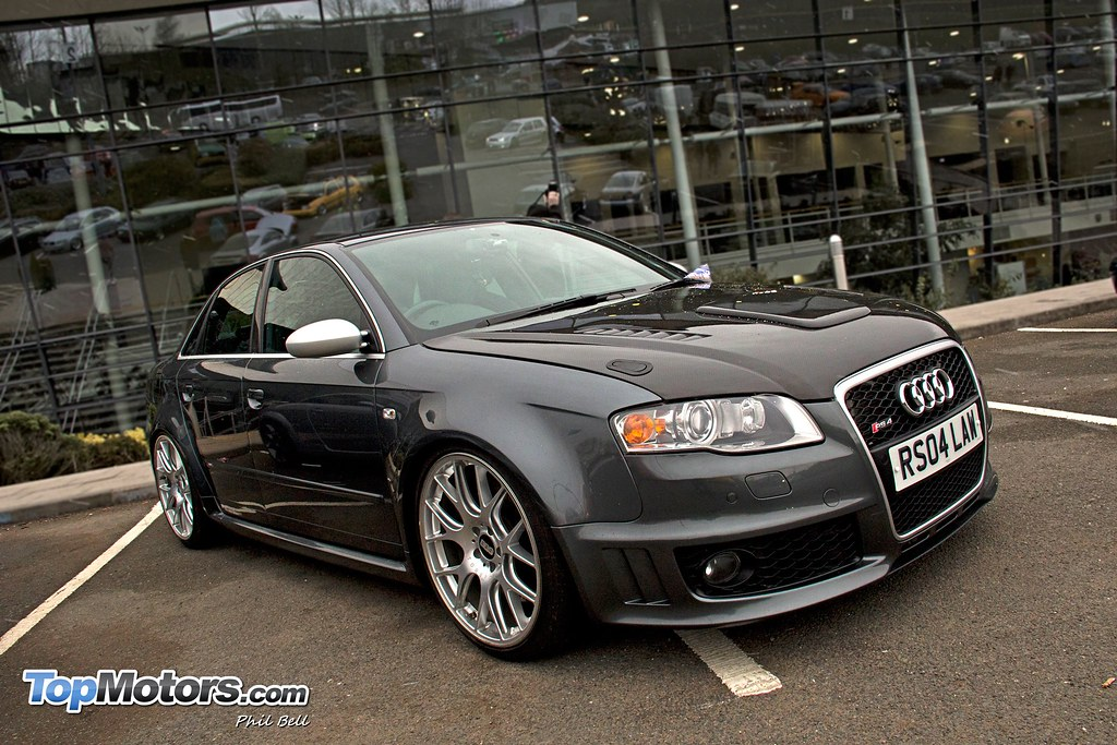 Audi Rs4 Supercharged Bbs Ch Alloys Ultimate Dubs