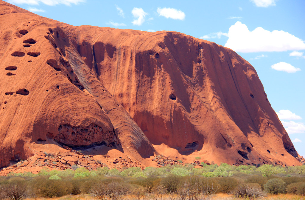 Ayers Rock Geology Colours Ayers Rock Geology