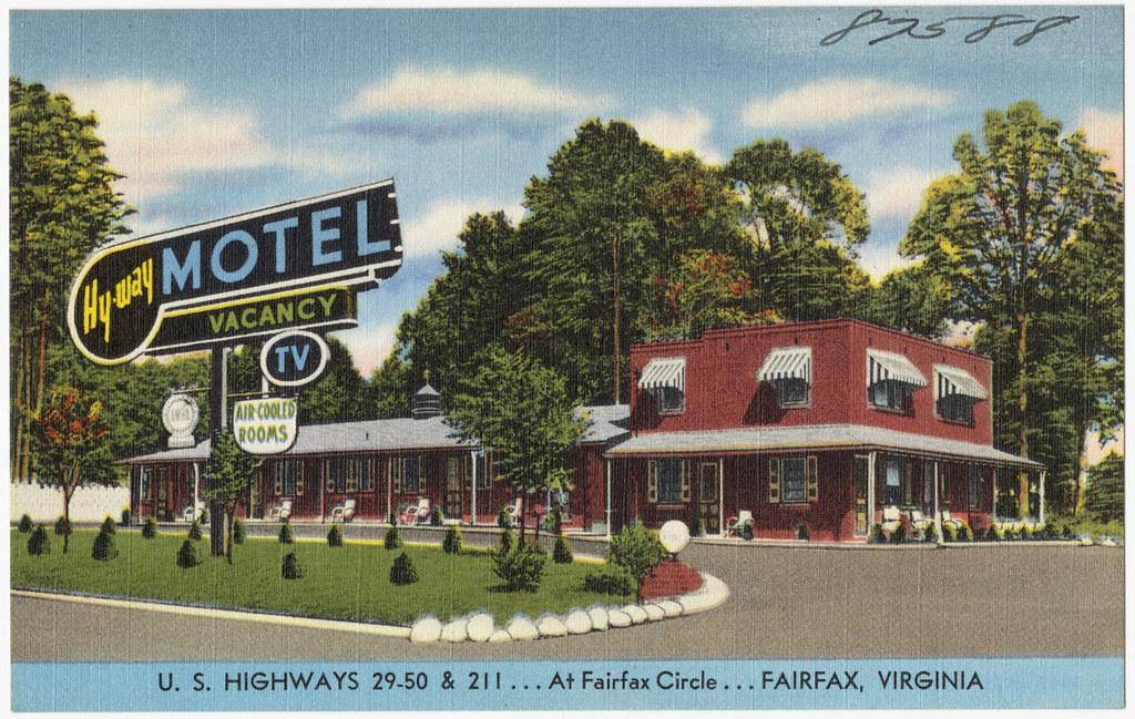 Hy way motel u s 29 50 211 at fairfax circle for Circle d motel