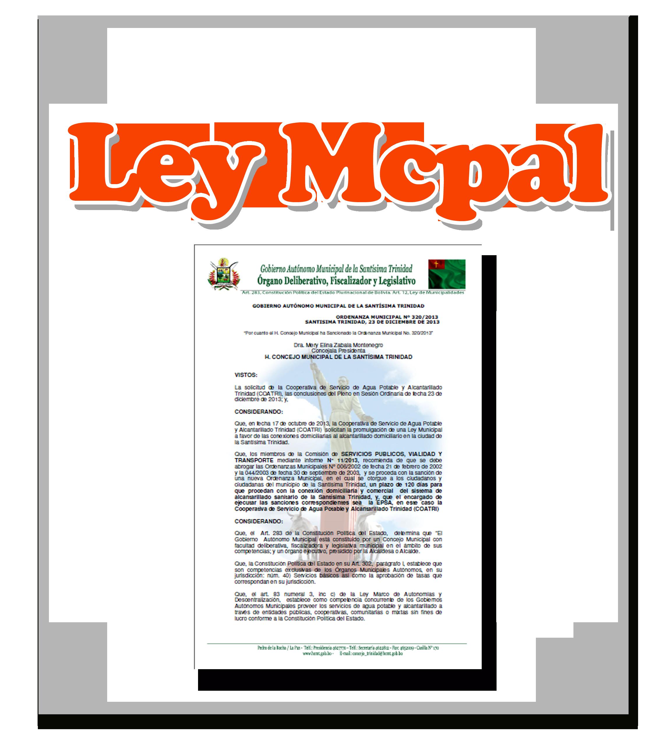 Ley Municipal 46/2014