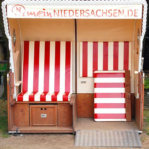 Niedersachsen Strandkorb Foto Brigitte Stolle