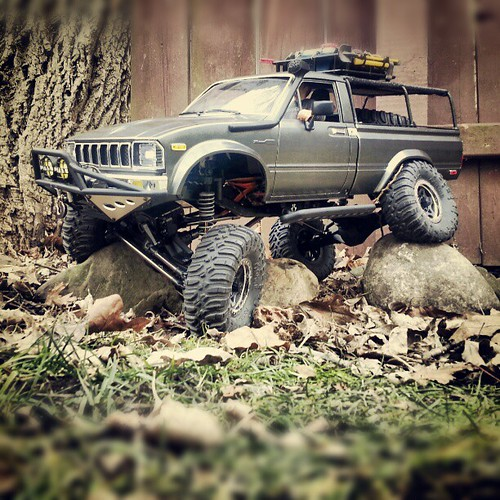 Axial Scx10 Rc4wd Hilux Tommy Rowen Flickr
