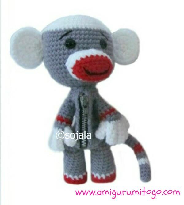 Sock Monkey Free Crochet Pattern Using Golden Jelly Beans Flickr