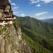 Perspective 3 on Tiger's Nest Monastery, Bhutan.