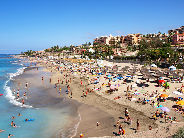 Playa del Duque, Costa Adeje, Tenerife  Flickr - Photo Sharing!