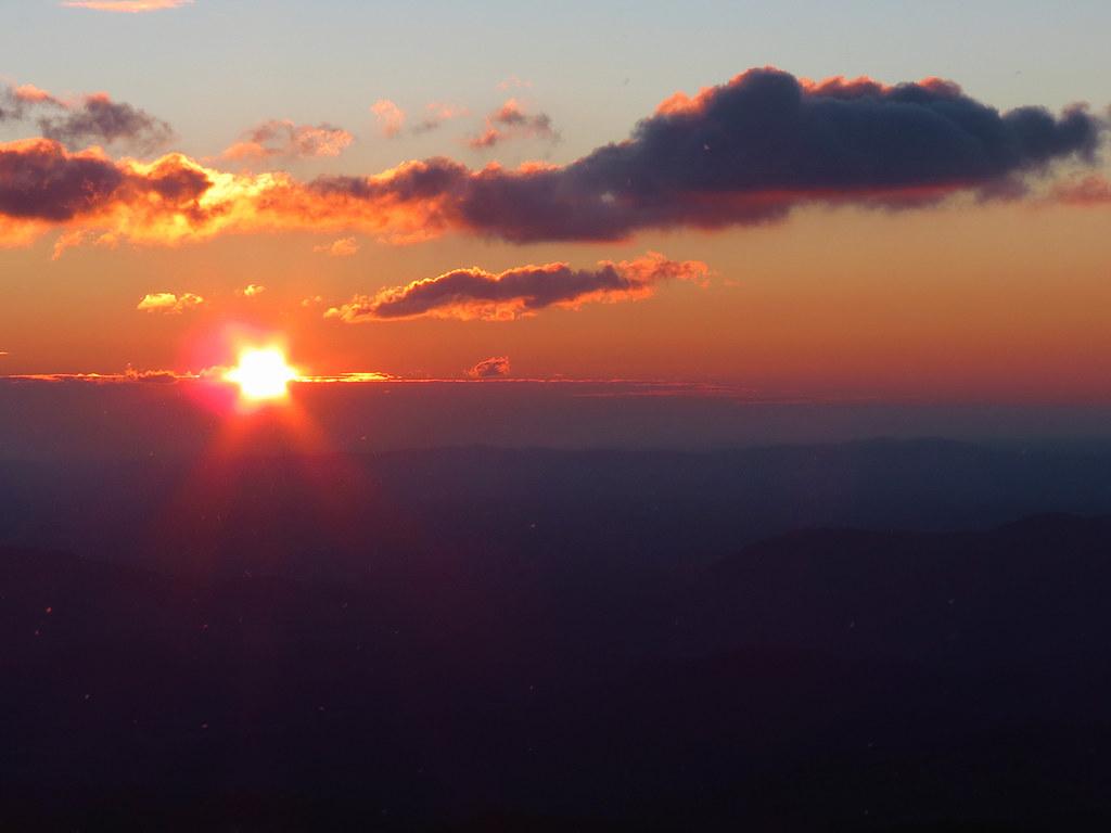 Winter Sunrise Over The