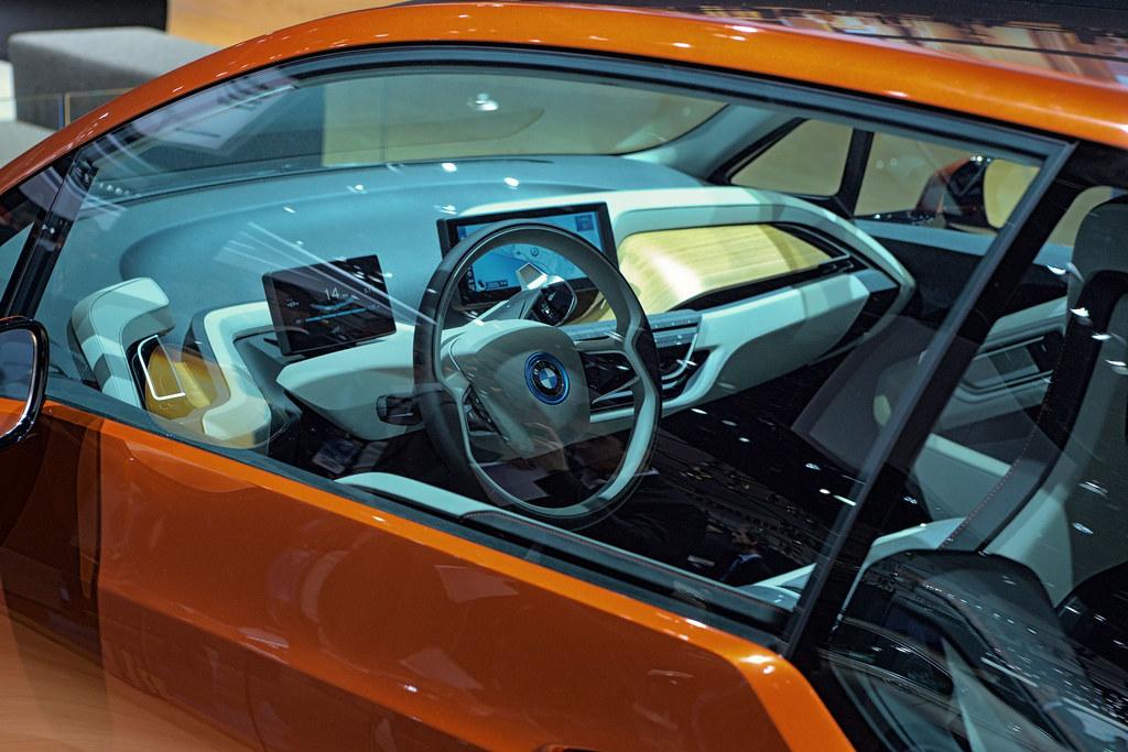 Bmw I3 Concept Coupe Interior Anton Stetner Flickr