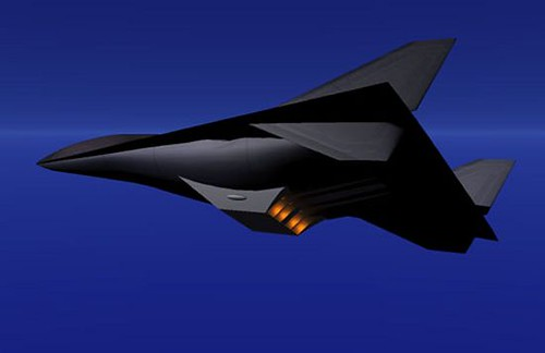 SR-91 Aurora fliying   Spy Files   Flickr Futuristic Fighter Jets