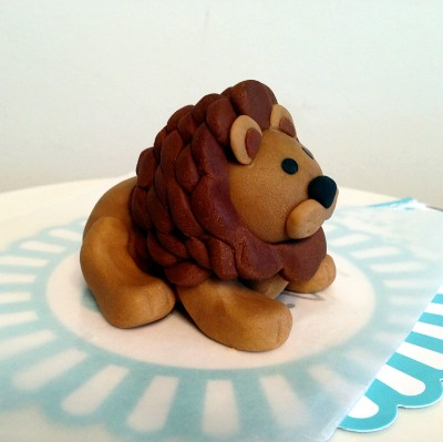 Fondant Lion Cake Topper