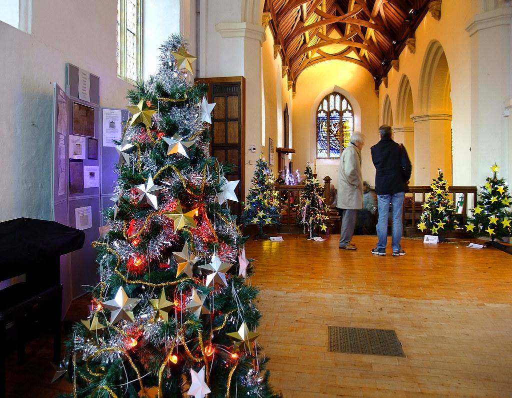 St Mary's Christmas Tree Festival | St Mary's Church in ...