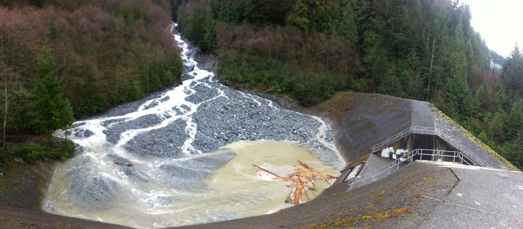 Charles Creek Debris Basin Destructive Debris Flows