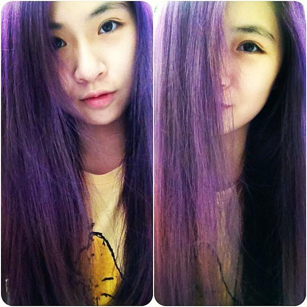 I Have Magical Hair Purple Mauve Violet Hair Hairdye