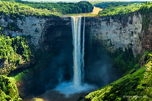 Kaieteur Falls from Potaro Canyon | by Hoppy1951