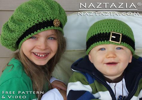 Free Crochet Pattern Video Irish Inspired Beret Hat An Flickr