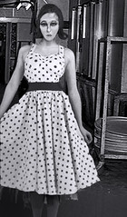 the girl in the polka dot dress RFK | THe polka dot dress gi… | Flickr