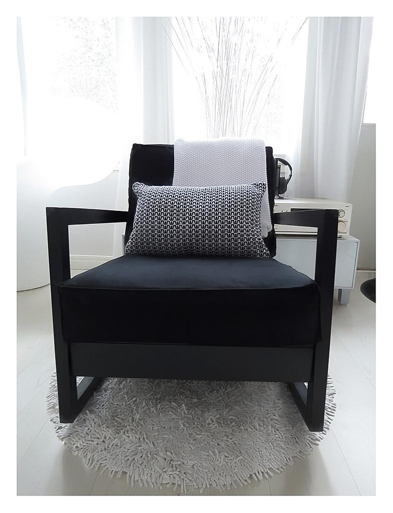 Ikea lillberg freshly painted this birch rocking chair for Schaukelstuhl ikea lillberg
