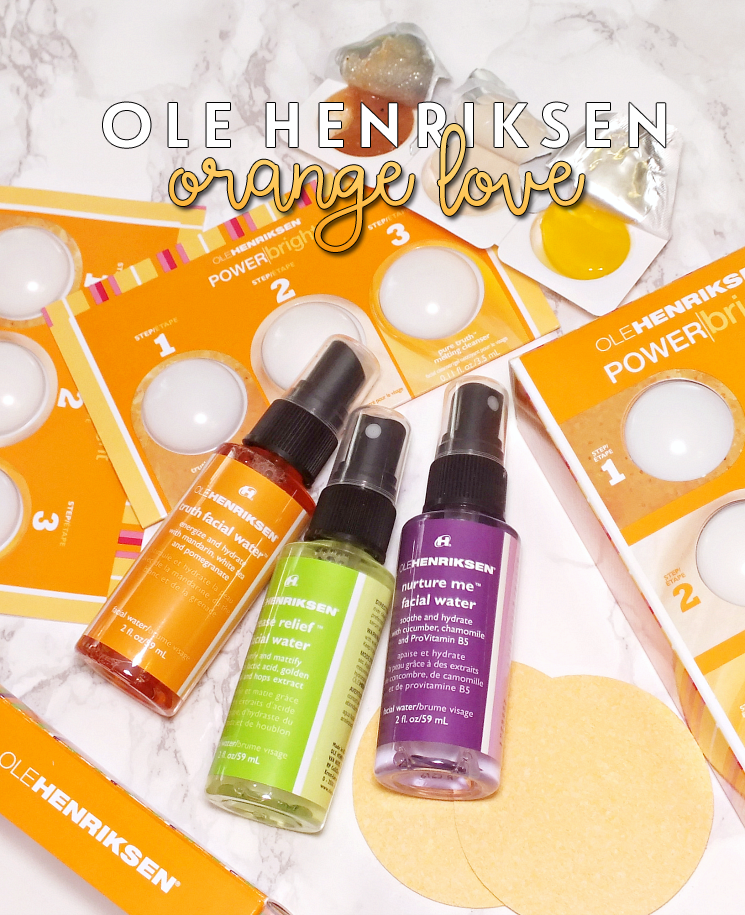 Ole henriksen power bright and  facial water trio (3)