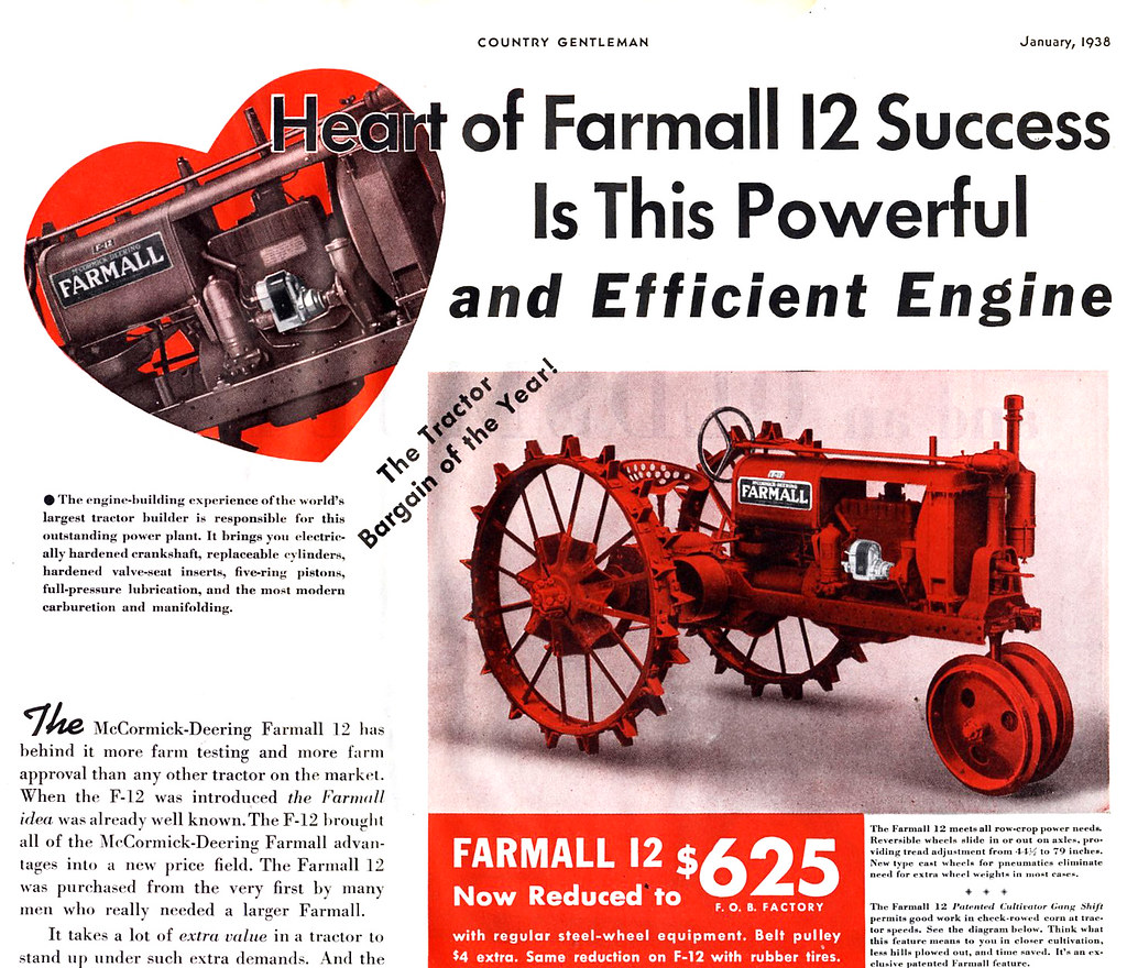 1938 Farmall 12 I Was Surprised To Find Steel Wheels On Th Flickr B Engine Diagrams By Dok1