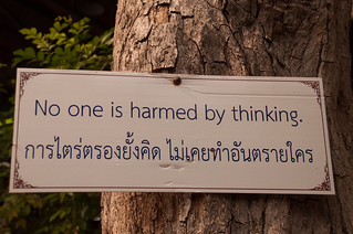 A Bit of Advice from the monks at Wat Pa Pao :) | by Nancie McK