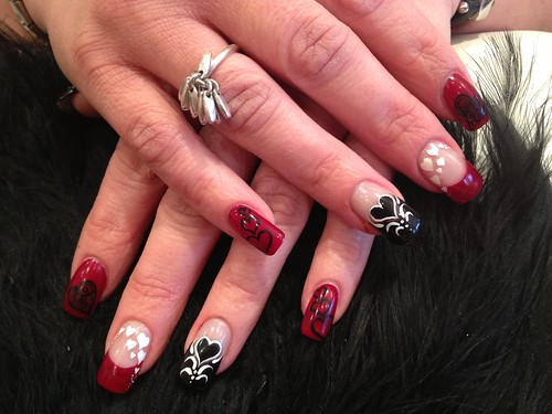 Love Acrylic Nail Designs