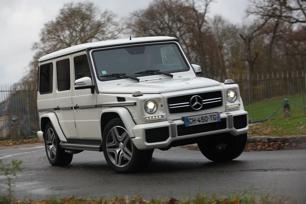 Mercedes benz g63 amg denis grge i valput flickr for New white mercedes benz