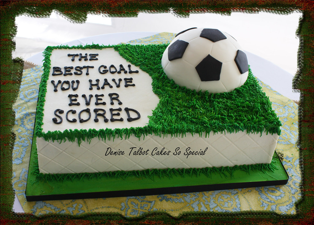 Soccer Birthday Cake Designs