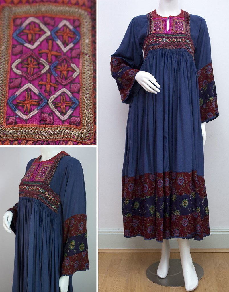Vintage afghan dress c 1970s louise flickr