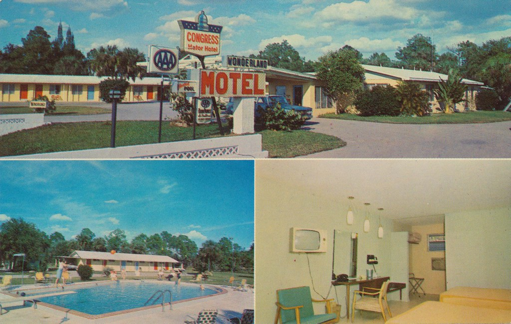 Wonderland Congress Motel - Fort Myers, Florida