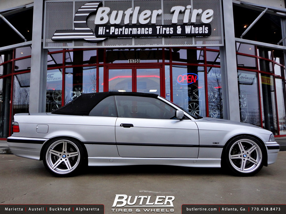 Bmw 328ci With 18in Tsw Mirabeau Wheels Additional