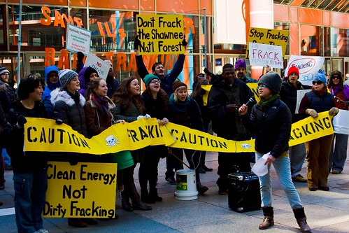 Anti-Fracking Rally at the James Thompson Center Downtown Chicago, Illinois March 22, 2013 260 | by www.cemillerphotography.com