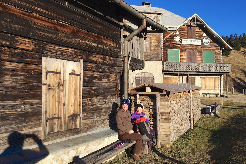 Schafbergalm Hütte