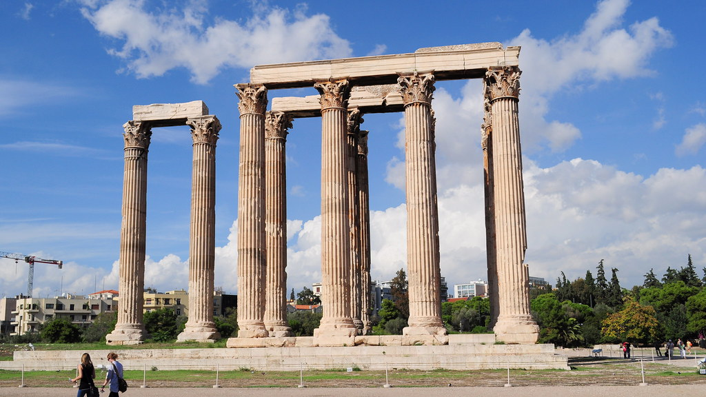 an examination of the temple of zeus at olympia The pediments of the temple of zeus at olympia are some of the best surviving examples of early classical greek sculpture the pediments were completed c460 bce and comprise of forty-two figures in total.