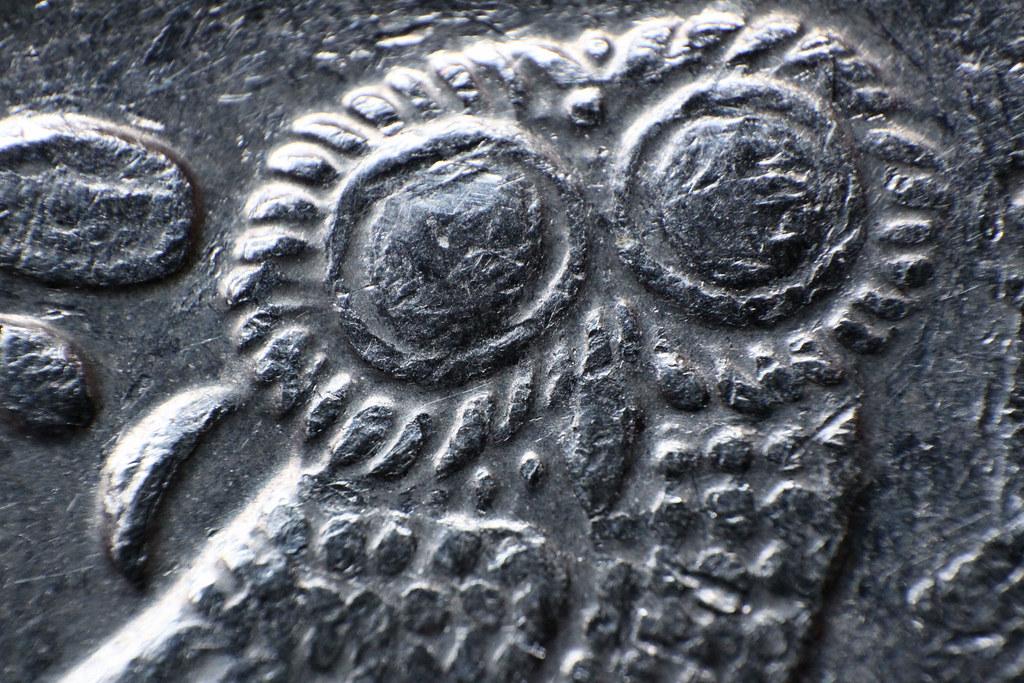 1 Euro Münze Rückseite Detail 01 Auf Diesem Makro Bild Ist Flickr