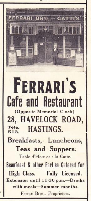 Ferrari S Restaurant Great Eccleston