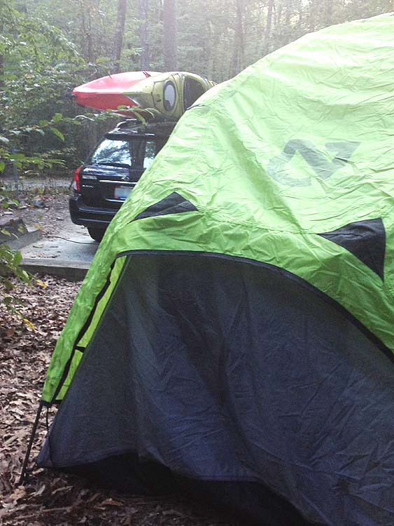 nemo tent camping subaru outback and kayaks camping out flickr