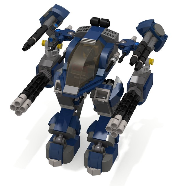 Lego Blue Sports Car