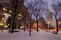 Winter in Montreal