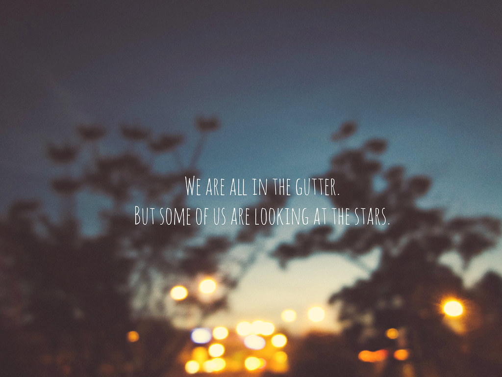 City Lights A Quote By Oscar Wilde Melanie May Chan Flickr