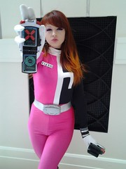 Sexy power ranger cosplay
